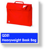 QD51 Heavy Weight Book Bag