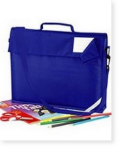 QD457 Heavyweight School Book Bag with Detachable Strap